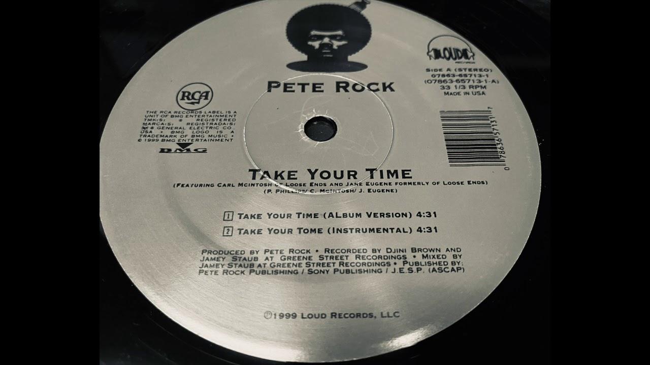 Download Take your time (instrumental) / Pete Rock