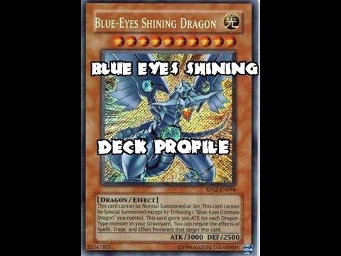 Blue Eyes Shining Dragon Deck Profile - YouTube