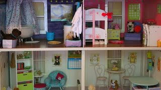 American Girl Dollhouse Tour