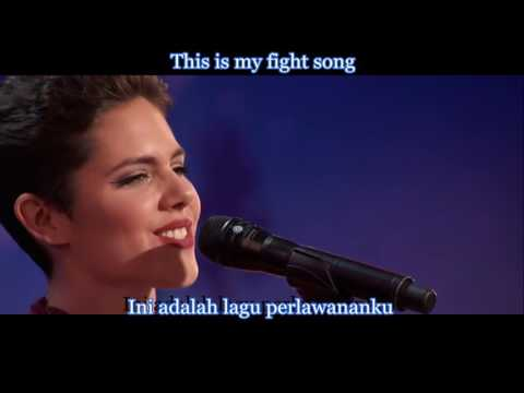 Calysta Bevier - Fight Song (Lyric & Terjemahan) AGT2016
