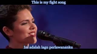Calysta Bevier - Fight Song (Lyric & Terjemahan) AGT2016
