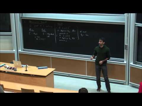 Anup Rao : Communication Complexity and Information Complexity - 1