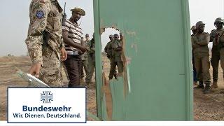 Mali: Belehrungssprengung - Bundeswehr