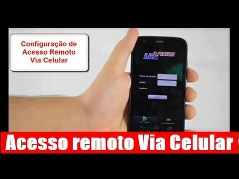 Como configurar celular para visualizar câmeras de cftv do Dvr