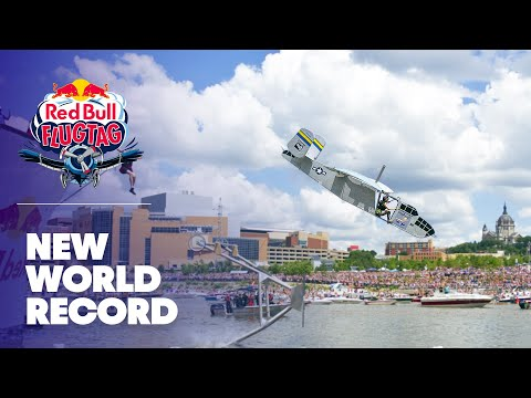 World record flight at Red Bull Flugtag Minneapolis St Paul 2010
