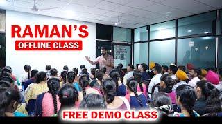 Raman's offline class DEMO
