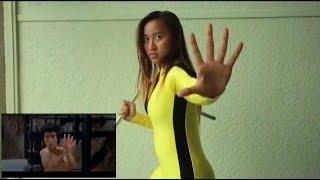 Девчонка насмотрелась Брюс Ли [720p]