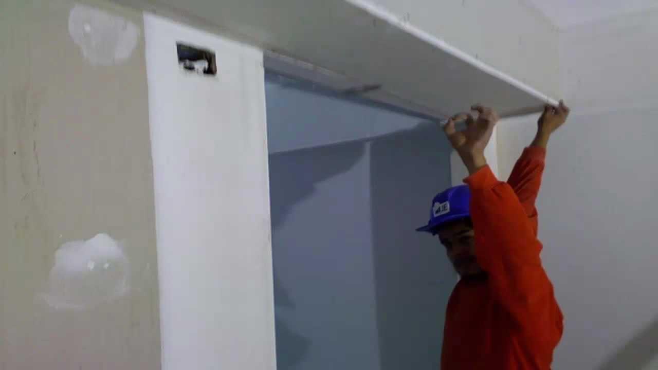 Drywall lima construcci n como instalar una falsa viga 2 for Montar pared de pladur