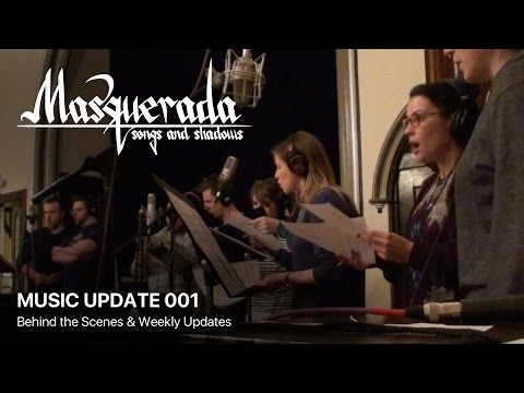 Masquerada Music: The Kickstarter Begins [Behind The Soundtrack - Week 1]