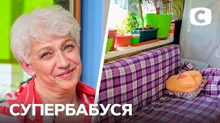 Бабушка живет на балконе ради удобства детей – Супербабушка