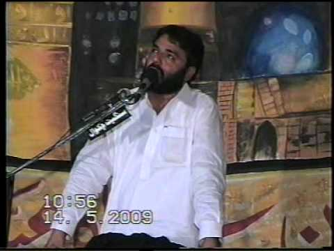 Zakir Najam ul Hassan Notak Makhnanwali 14 MAY 2009 Jalsa.DAT Travel Video