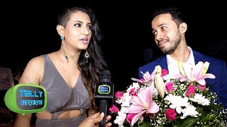Aditi Gupta Flaunts New STYLISH HAIRSTYLE at Divyanka Vivek RECEPTION PARTY | Exclusive Interview