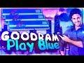 Распаковка ОЗУ Goodram DDR4-2400 8192MB Play Blue (GYB2400D464L15S/8G) из Rozetka.com.ua