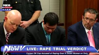getlinkyoutube.com-FNN: Daniel Holtzclaw OKC Cop Accused of 13 Rapes Verdict Live