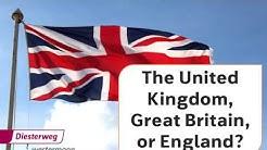 The United Kingdom, Great Britain or England? | Englisch-Video für den Unterricht