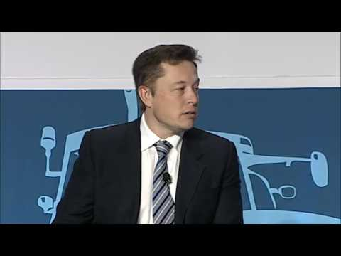2014 Annual Conference| Discussion with Elon Musk