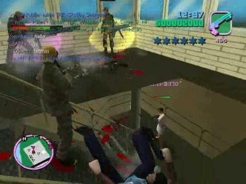 Jogando GTA Vice City Multiplayer GTA ONLINE