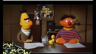 Opie And Anthony on air fight as Bert And Ernie