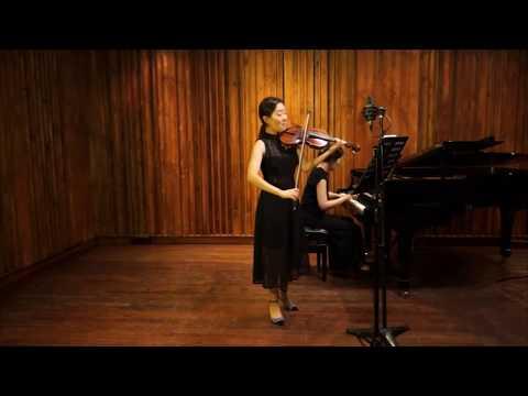 Ji Won Song | Beethoven | Violin Sonata No. 4 in A Minor | 1st Mvt