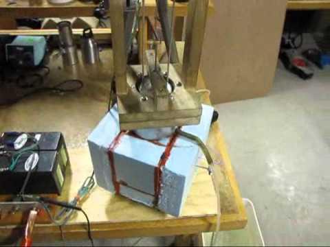 Diy Stirling Engine Heat Pump Refrigerator Cools To 36 176 F