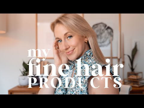 HAIR PRODUCTS FOR FINE THIN HAIR