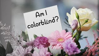 AM I COLORBLIND? | Taking some colorblind tests.