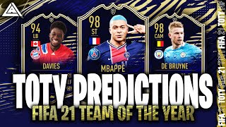 TEAM OF THE YEAR 2020 | FIFA 21 TOTY PREDICTIONS