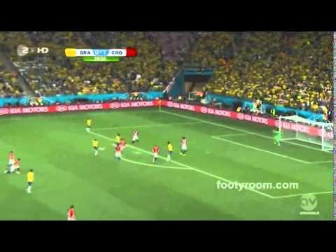 Brazil 3 vs 1 Croatia - All Goals & Full Highlights World Cup 2014 HD