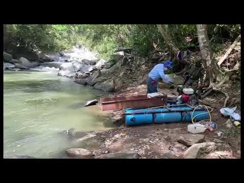 Detenidas siete personas por prácticas mineras ilegales en el muncipio de Fálan
