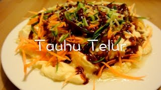 how to cook tofu tauhu telur tofu with egg