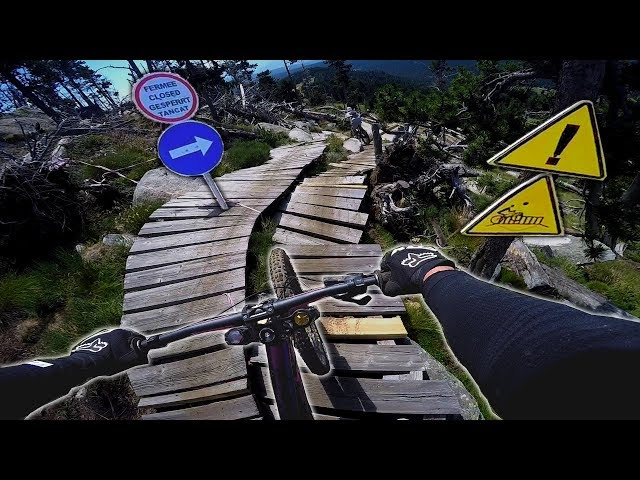 1er CRASH en #DH : UN RÉGAL 👌