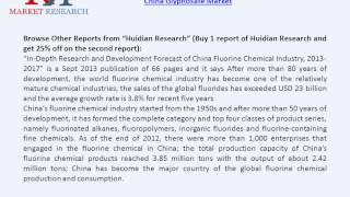 China Glyphosate Market Import & Export Channels