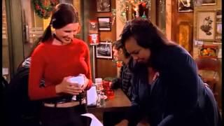 Shawnee Smith as Linda on TV Show Becker -  Christmas scene