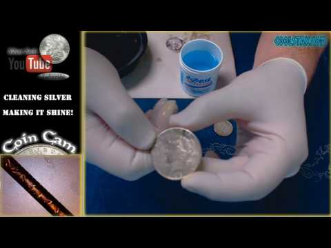How to Clean Silver Bullion and Silver Jewelry!