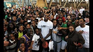 Lebron James donates 41 million to send 1,100 children to college
