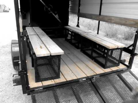 Oil Field Trailer - Open Air Cooling Trailer Overview
