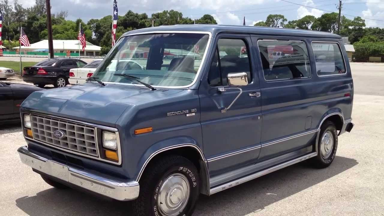 small resolution of 1988 ford e150 econoline view our current inventory at fortmyerswa com youtube