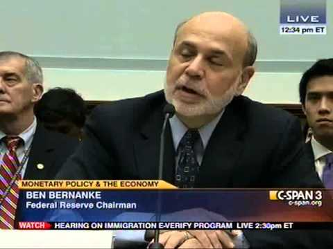 2/27/13 - Financial Services Committee Hearing with Chairman Bernanke