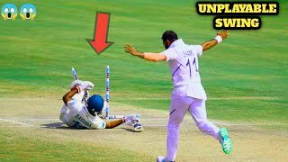 Dangerous swing bowling by indian pacers(part 1)| insane swing| mohammad shami| kapil dev| 2020