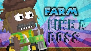 Growtopia | How to Profit from FARMING!