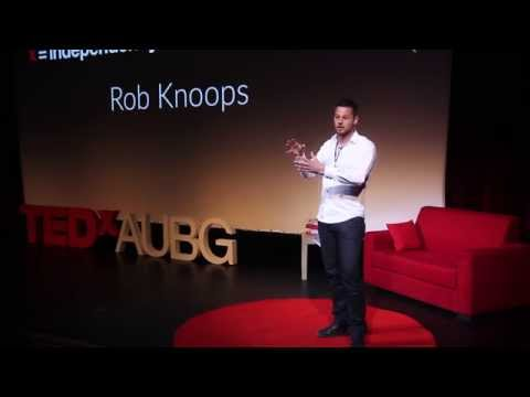 Where are those extra dimensions in the string theory? Rob Knoops at TEDxAUBG