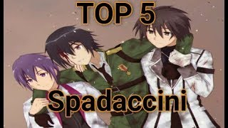 TOP 5 Spadaccini negli Anime [ITA]