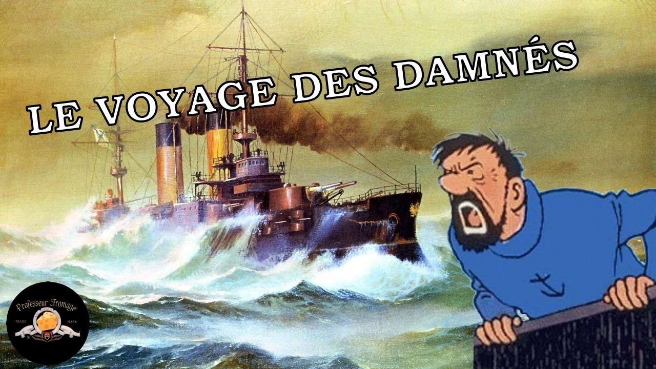 LE VOYAGE DES DAMNÉS : la croisière cataclysmique de la flotte russe vers Tsushima.