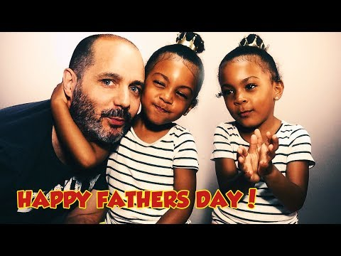 Special day for our special man - Happy Fathers Day! (twin talk)