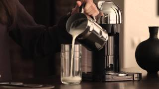 Nespresso VertuoLine: How To - Make A Latte Gourmand