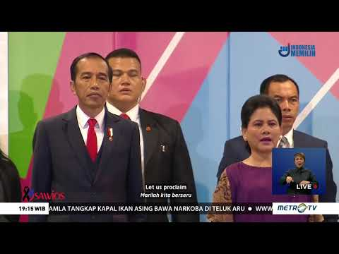 Indonesia Raya - With Vocal And Sign Language - Opening Ceremony Asian Paragames 2018