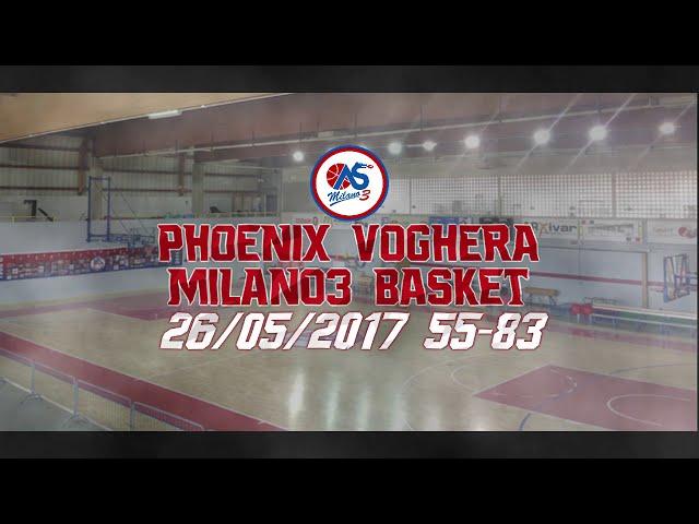 M3mories: Phoenix Voghera-Milano3 Basket