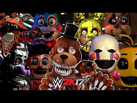FIVE NIGHTS AT FREDDY'S | ROYAL RUMBLE WWE 2K17