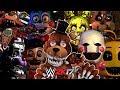 FIVE NIGHTS AT FREDDY'S   ROYAL RUMBLE WWE 2K17