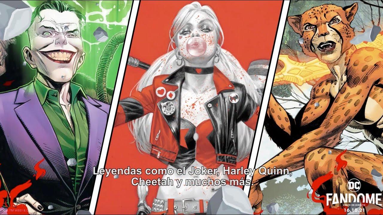 Viernes de DCFanDome - ¡Los Supervillanos!